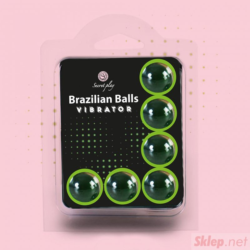 SET 6 BRAZILIAN BALLS VIBRATOR