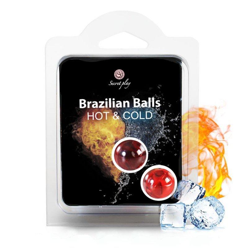 SET 2 BRAZILIAN BALLS HOT & COLD
