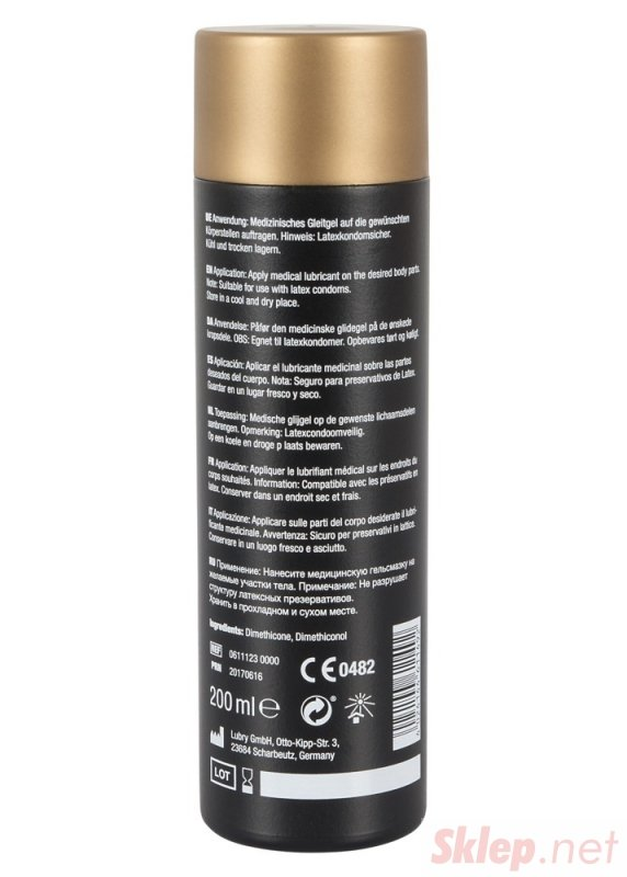 Żel-6111230000 JG Silicone 200 ml-Akcesoria do masażu
