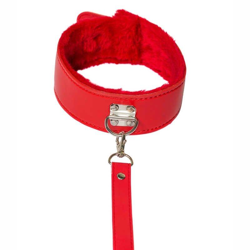 Wiązania- The Collar Party Hard Circus Red