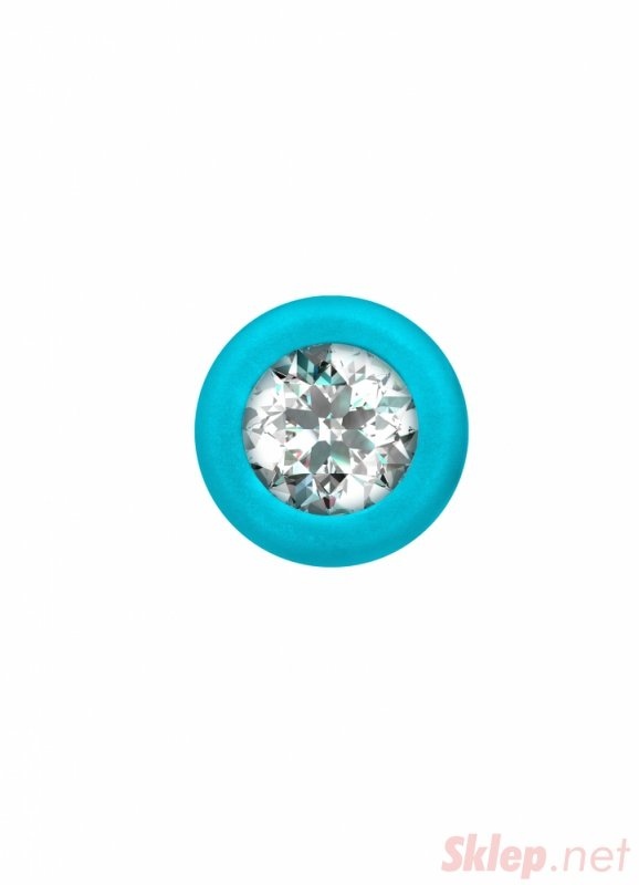 Anal bead with crystal Emotions Chummy Turquoise