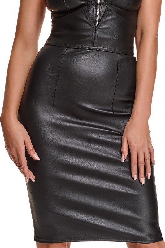Bielizna - BRFEDERICA001 spódnica czarna rozmiar XL