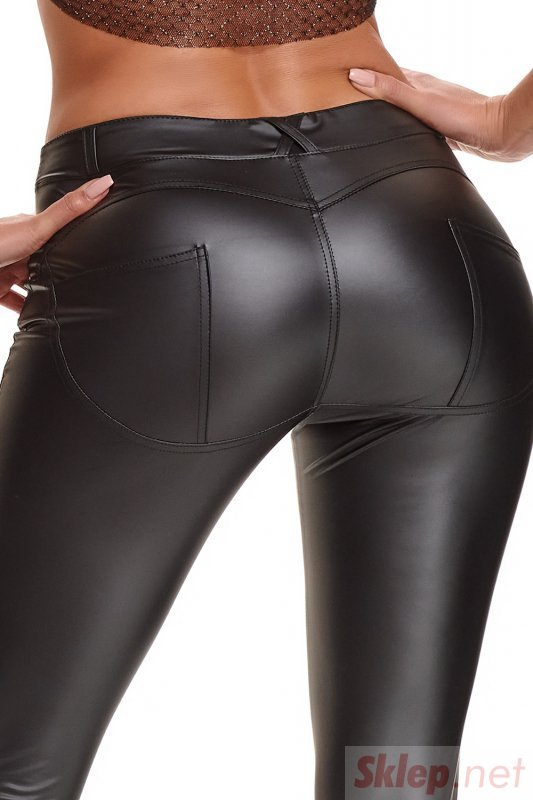 Bielizna - BRGIULIA001 legginsy czarne rozmiar S