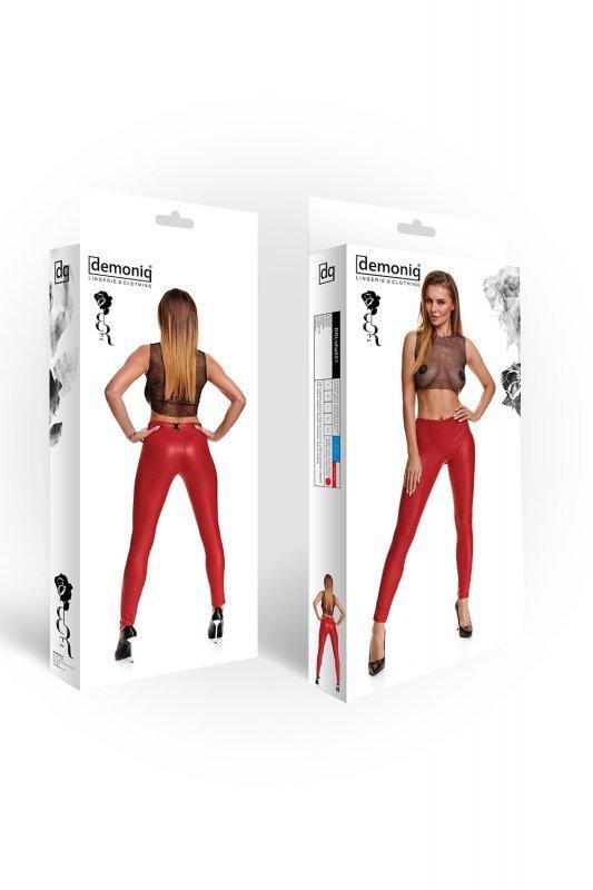 Bielizna - BRLIDIA001 legginsy czerwone rozmiar L