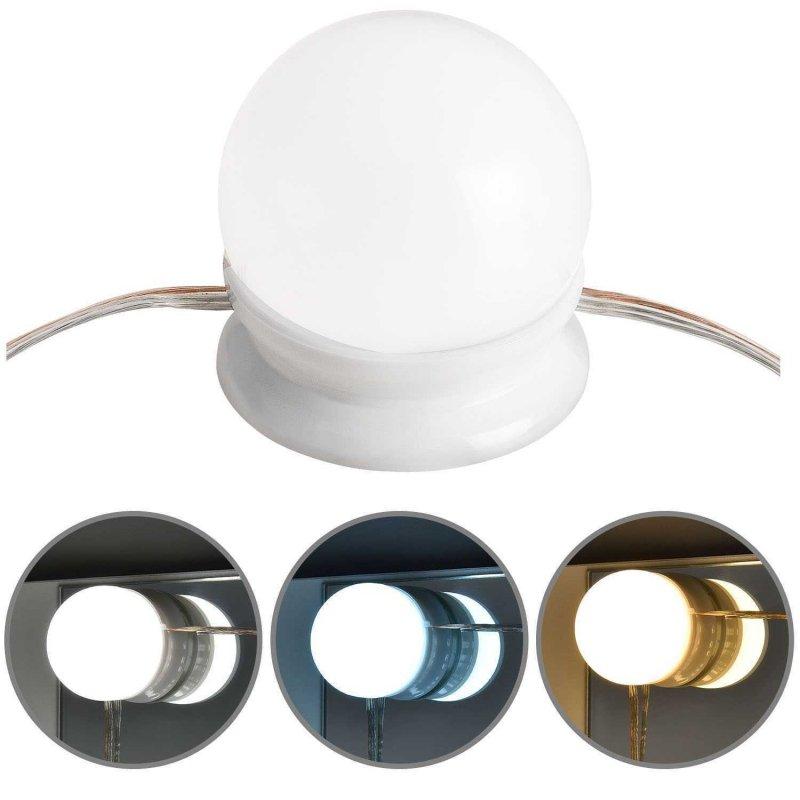 Lampki oświetlenie led do toaletki mebli lustra