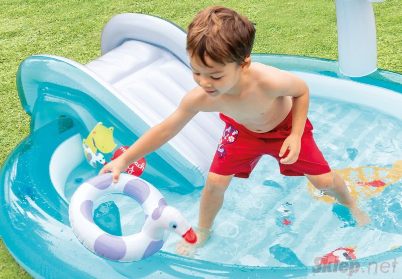 Basen zjeżdżalnia wodny plac zabaw brodzik Intex