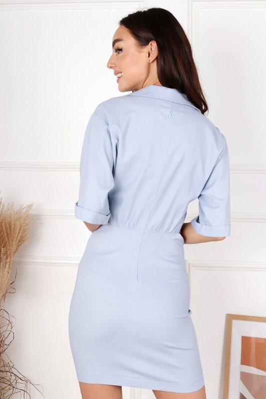 sukienka mini z wycięciami