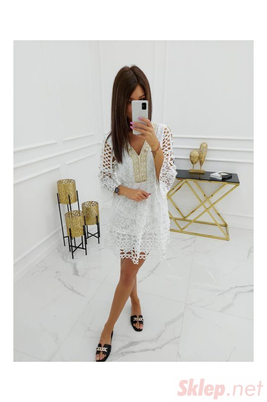 Sukienka Mayca Cotton HY1036 White