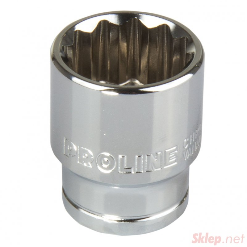18559 Nasadka 1/2 cala 12pkt CrV 8mm, L:38mm, Proline