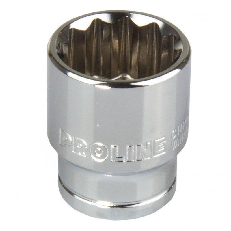 18561 Nasadka 1/2 cala 12pkt CrV 10mm, L:38mm, Proline