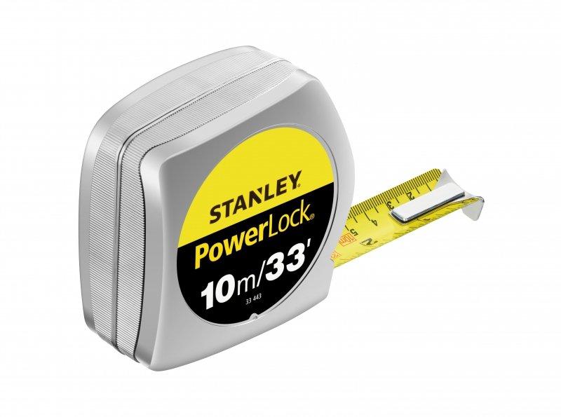 Miara 10m-33ft/25mm powerlock, obudowa plastikowa [k]