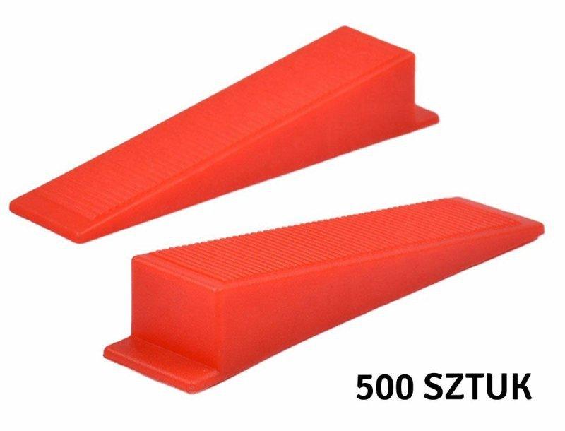 AG707B Kliny syst. poziom. 500+100 1,5mm