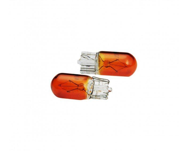 01481 Żarówki halogenowe WY5W T10 5W W2.1x9.5d Amber 12V 10 sztuk