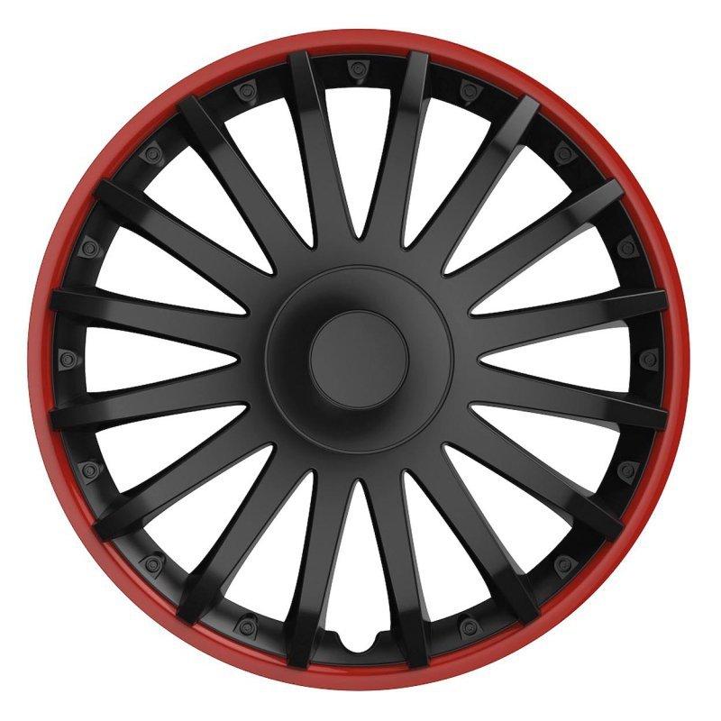 10293 Kołpak Crystal 14 cali Black&Red (czarny z czerwoną obwódką)