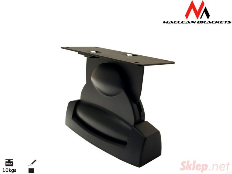 Uchwyt głośnikowy do kolumn Maclean MC-535 B 10kg kpl 2szt