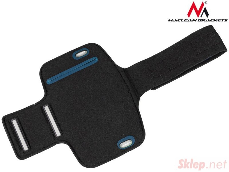 "Etui na telefon na ramię szary 4,8"" Maclean MC-405 S"