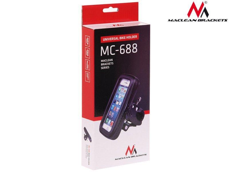 Rowerowy uchwyt do telefonu rozmiar L Maclean MC-688wodoodporny uniwersalny