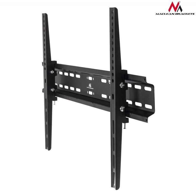 """Uchwyt do telewizora lub monitora 37-70"""" Maclean MC-749 czarny max vesa 600x400 35kg"""