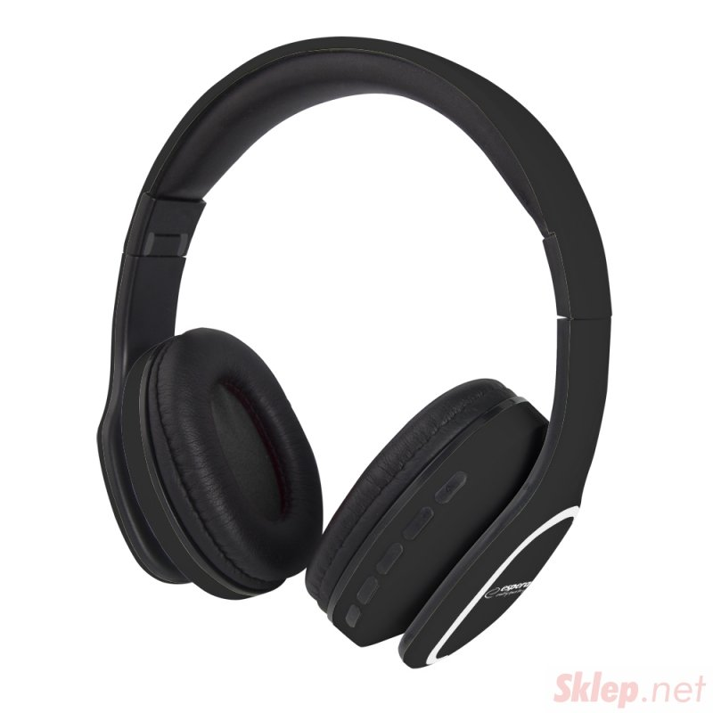 EH213K Esperanza słuchawki bluetooth dance czarne