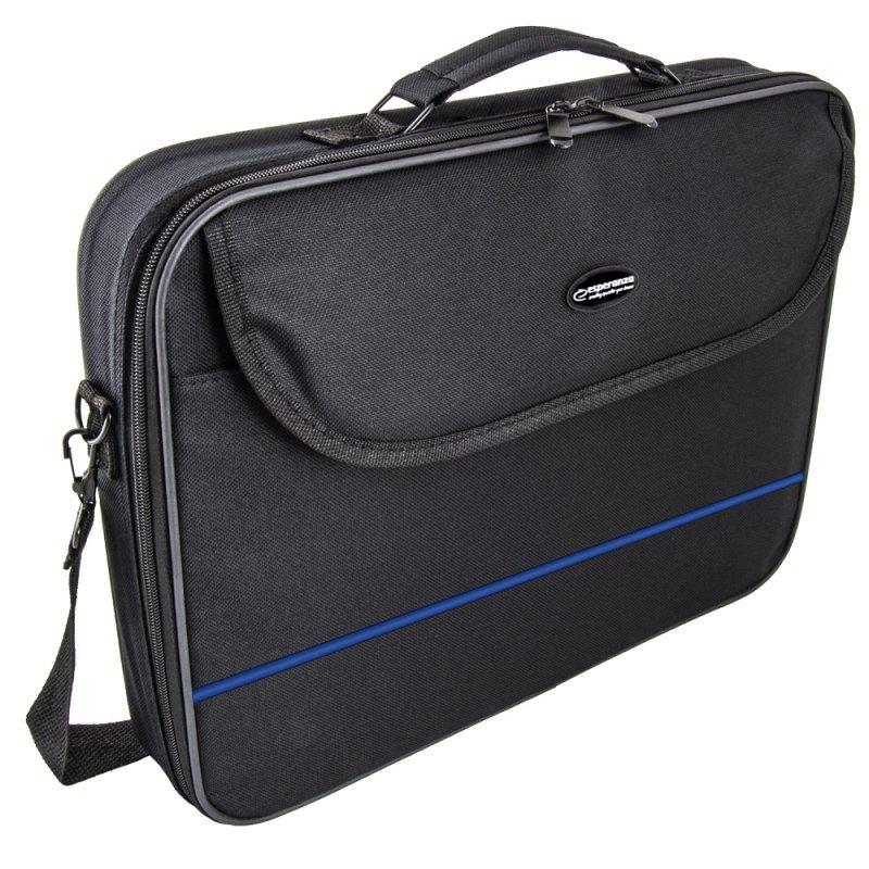 "ET101B Esperanza torba na notebooka 15,6"" classic blue"