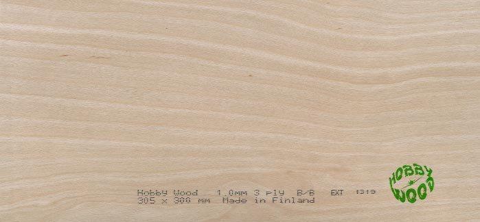 Sklejka brzozowa 5,0 x 300 x 1220 mm