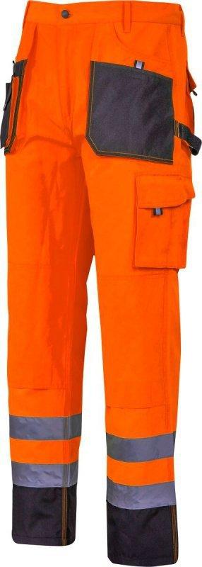"""Spodnie ostrzegawcze czarno-pomarańczowe, """"2xl"""", ce, lahti"""