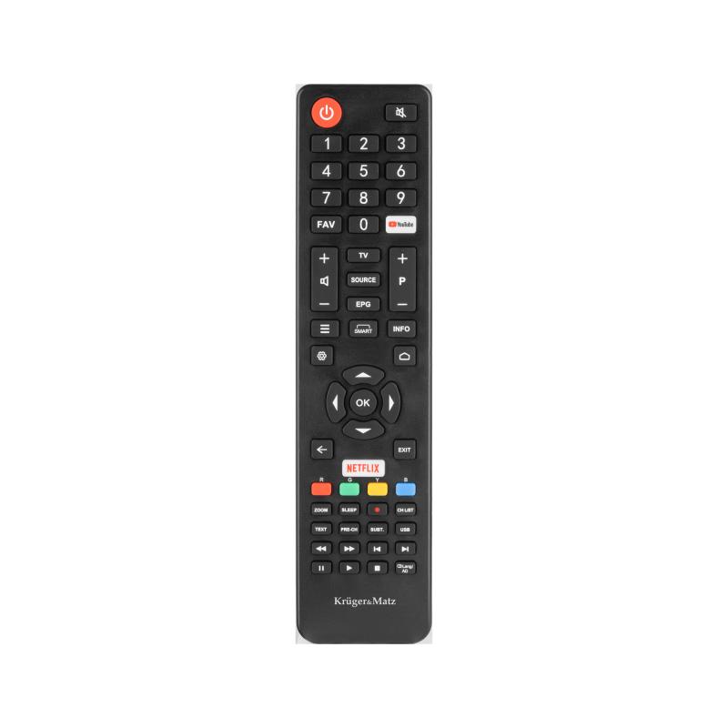 "Telewizor Kruger&Matz 58"" UHD smart DVB-T2/S2 H.265 HEVC"