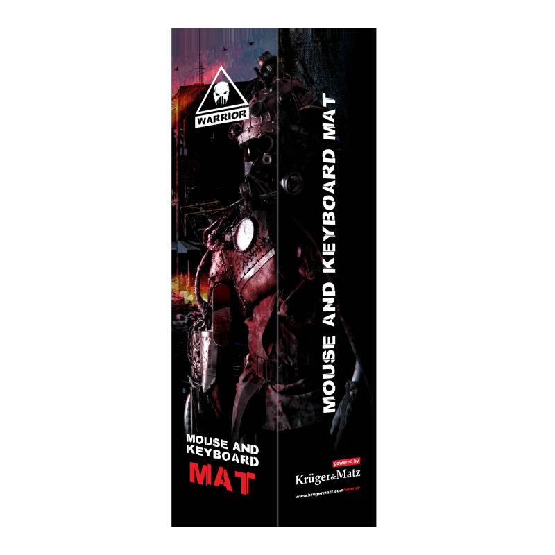 Podkładka pod mysz i klawiaturę Kruger&Matz Warrior