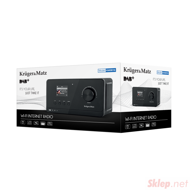 Radio internetowe Kruger&Matz KM0816