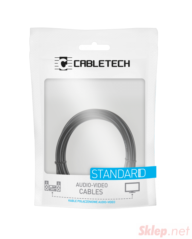 Kabel Jack 3.5-2RCA 10m Cabletech standard
