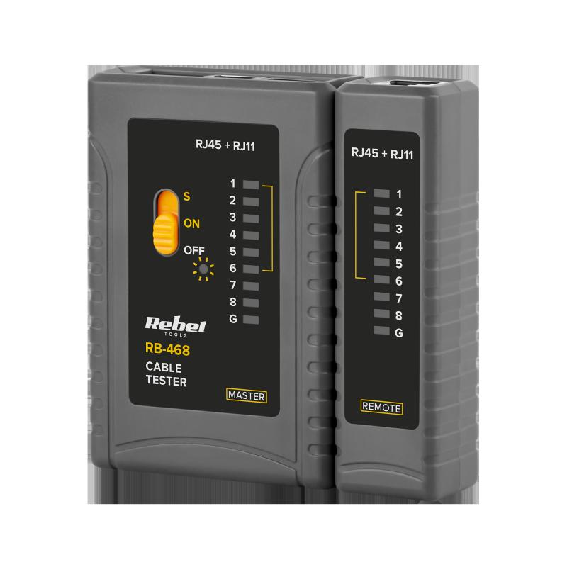 Tester linii telefonicznych REBEL RB-468