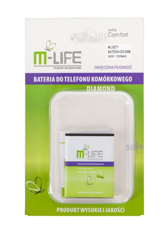 Bateria M-Life B185BE do Samsung Galaxy Core i8260 i8262 SM-G350E