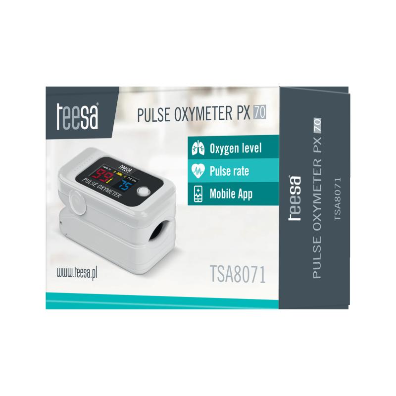 Pulsoksymetr napalcowy BT PX70