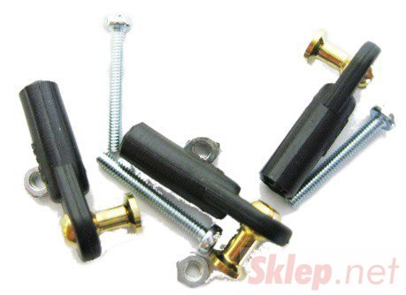 Snap kulowy V1 M2,5/2 fi5 z przelotem długim (2 kompl)