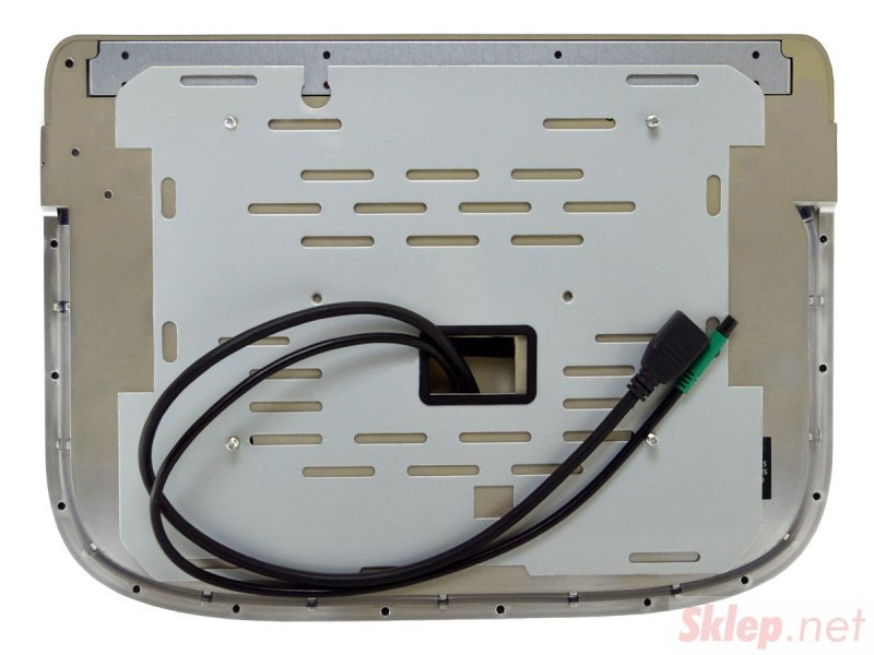 Monitor podwieszany podsufitowy led 13cali z systemem android usb fm bt wifi 12v