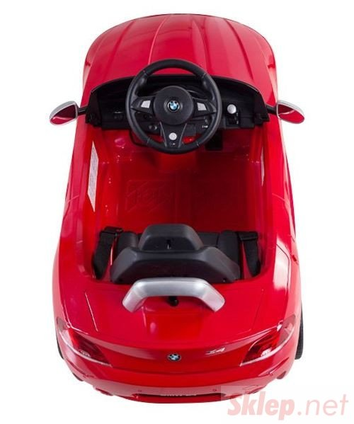 Jeździk Mercedes-Benz SLK55 (akumulator, MP3) - czerwony