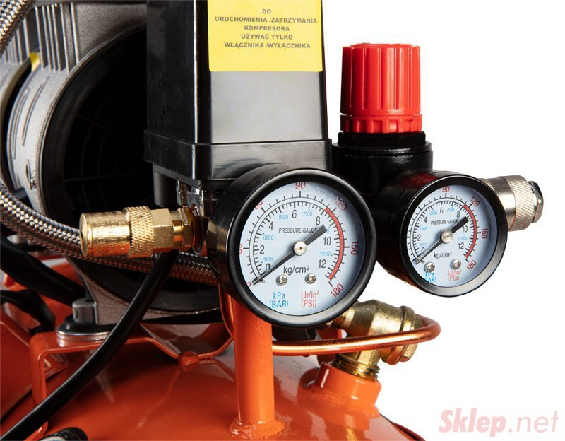Kompresor bezolejowy 24 l