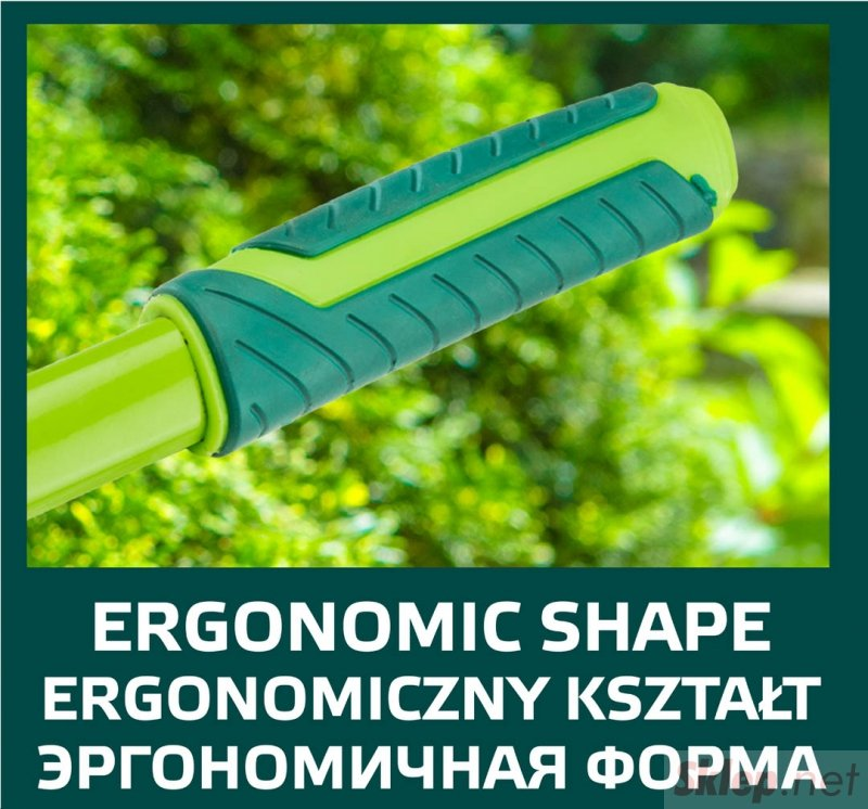 Nożyce do żywopłotu proste 550 mm, ostrze 185 mm