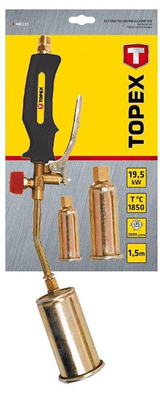 Zestaw palników gazowych 19.5kW, 3 palniki
