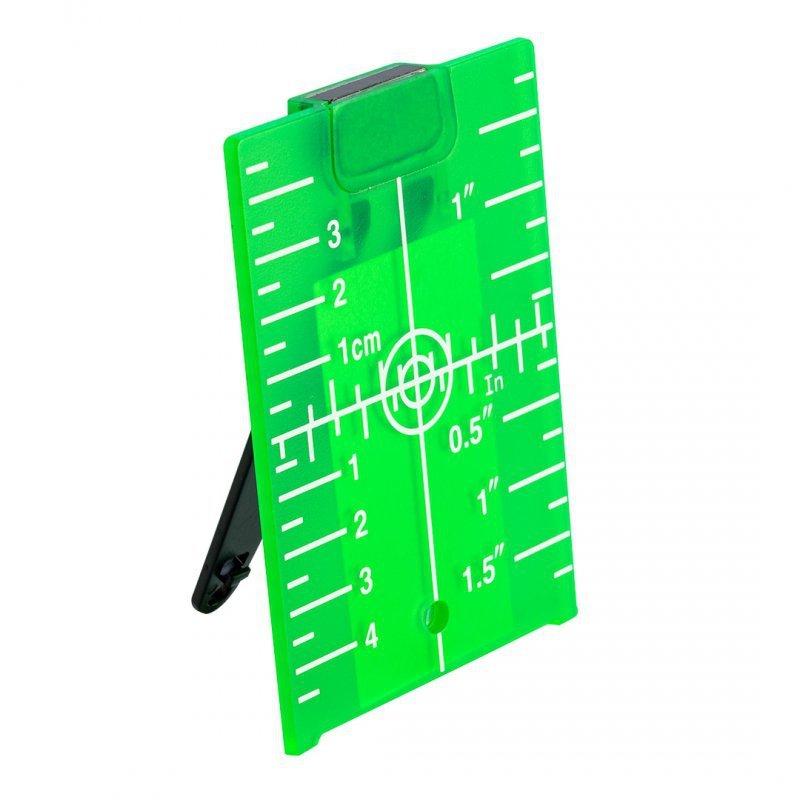 Tarcza celownicza do laserów, zielona
