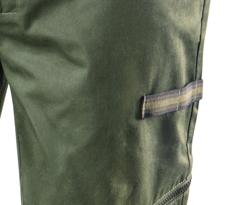 Spodnie robocze CAMO olive, rozmiar XXXL