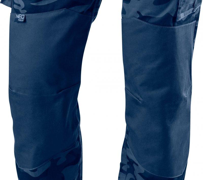 Spodnie robocze CAMO Navy, rozmiar XXXL