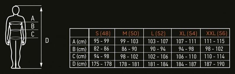 Kurtka z membraną 8000 PREMIUM, ocieplenie PrimaLoft, rozmiar XXL