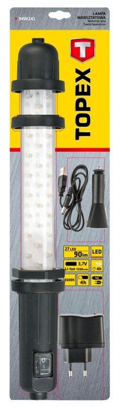 Lampa warsztatowa 27 LED