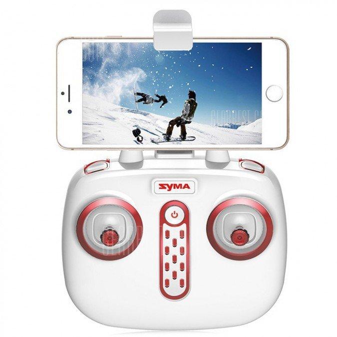 Syma X20W (2.4GHz, kamera FPV WiFi, żyroskop, zasięg do 20m, 11cm) - Biały
