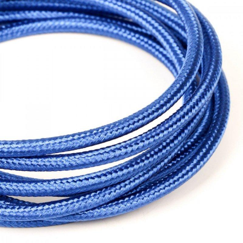 Kabel USB-USB C 1.5m niebieski sznurek