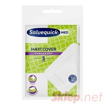 Salvequick Med Maxi Cover Plastry 5 szt