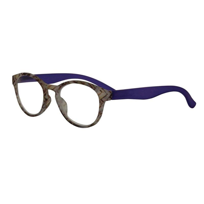 Visioptica By Visiomed France  Delhi-+ 3,5 Szaro niebieskie Okulary korekcyjne do czytania