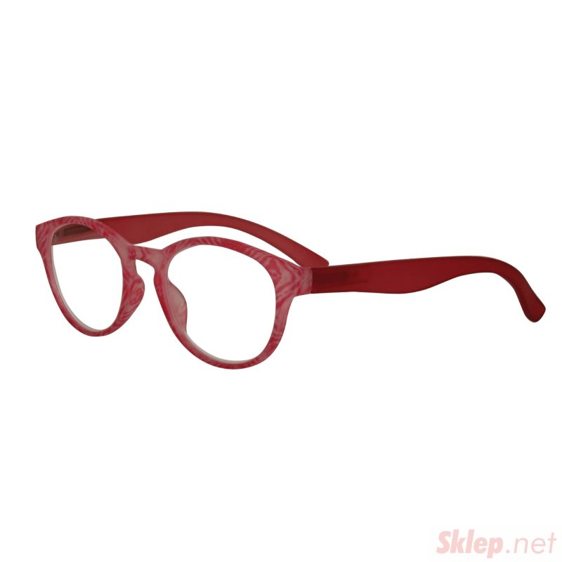 Visioptica By Visiomed France Delhi-+ 2,5 Różowe Okulary korekcyjne do czytania