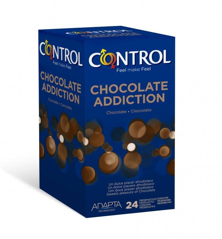 Control Chocolate 24 czekoladowe prezerwatywy, Standard